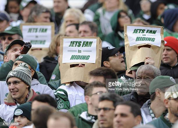 Jets Fans 1st quarter of New York Jets vs St Louis Cardinals at MetLife Stadium East Rutherford NJ Sunday December 2 2012