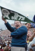 Jets fans wave their hands and a flag during super bowl iii featuring picture id51454499?s=170x170