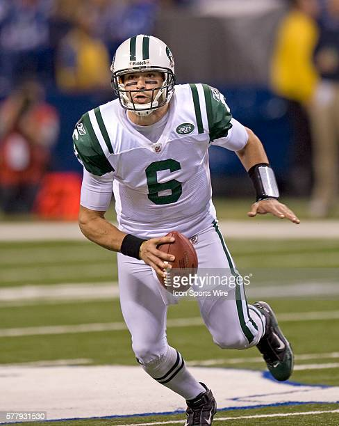 NY Jets quaterback Mark Sanchez The New York Jets defeated the Indianapolis Cols 1716 in a AFC Wildcard game at Lucas Oil Stadium in Indianapolis IN...