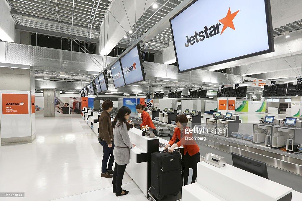 Media Preview Of New LCC Terminal At Narita Airport : News Photo