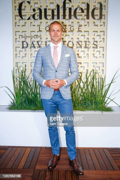 Jett Kenny attends 2018 Caulfield Cup Day at Caulfield Racecourse on October 20 2018 in Melbourne Australia
