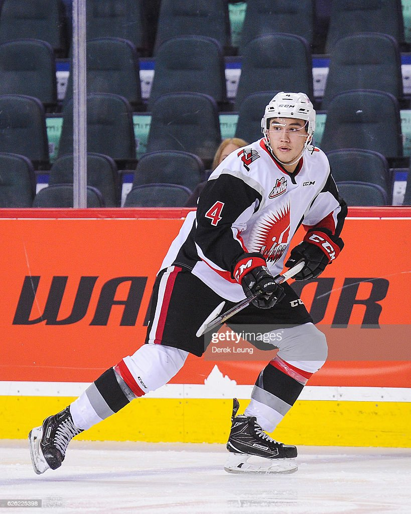 Moose Jaw Warriors v Calgary Hitmen : News Photo