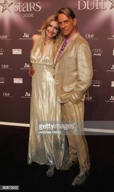 Jette Joop and her father Wolfgang Joop attend the 'Duftstars' Award 2008 at the 'The Station' on April 26 2008 in Berlin Germany