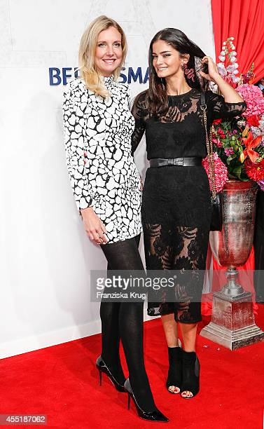 Jette Joop and Shermine Sharivar attend the Bertelsmann Summer Party at the Bertelsmann representative office on September 10 2014 in Berlin Germany