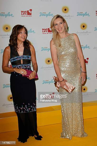 Jette Joop and Vicky Leandros attend the dreamball 2011 charity gala at the  RitzCarlton on September 9b990f65d0