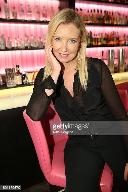 Jette Joop attends a QVC event during the Vogue Fashion's Night Out on September 9 2016 in Berlin Germany