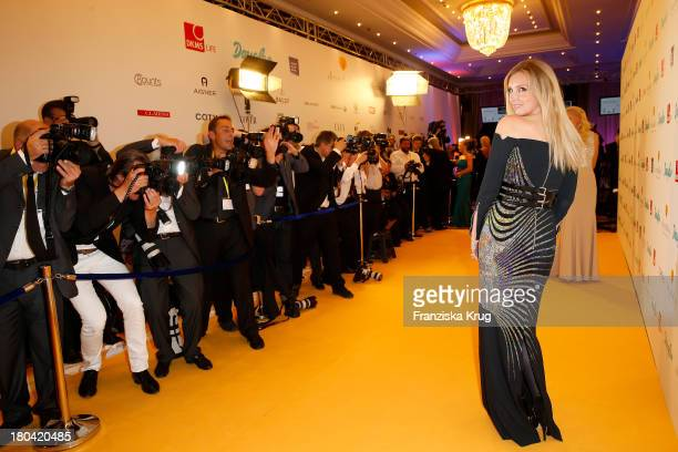 Jette Joop attends the Dreamball 2013 charity gala at Ritz Carlton on September 12, 2013 in Berlin, Germany.