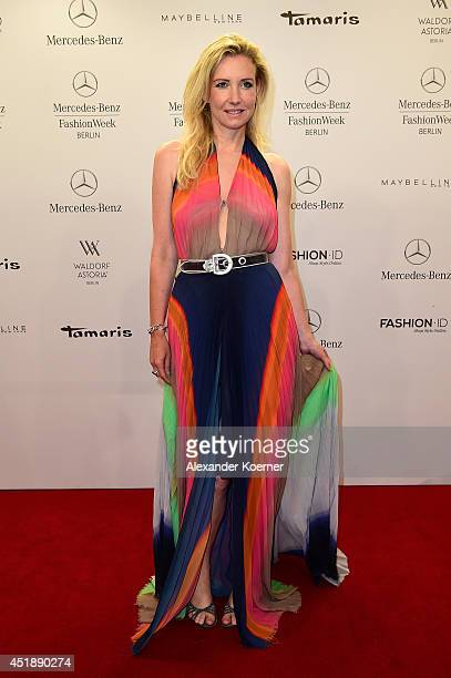 Jette Joop attends the Glaw show during the MercedesBenz Fashion Week Spring/Summer 2015 at Erika Hess Eisstadion on July 9 2014 in Berlin Germany