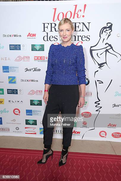 Jette Joop attends the Look Women of the Year Awards at City Hall on November 30 2016 in Vienna Austria
