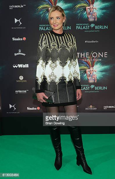 Jette Joop attends 'THE ONE Grand Show' premiere at FriedrichstadtPalast on October 6 2016 in Berlin Germany