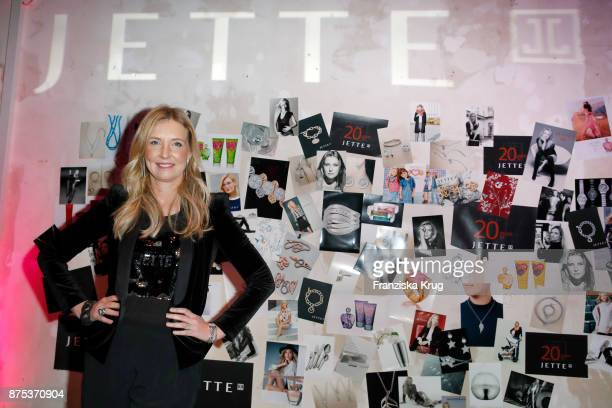 Jette Joop during the 20th anniversary celebration of JETTE on November 17 2017 in Berlin Germany
