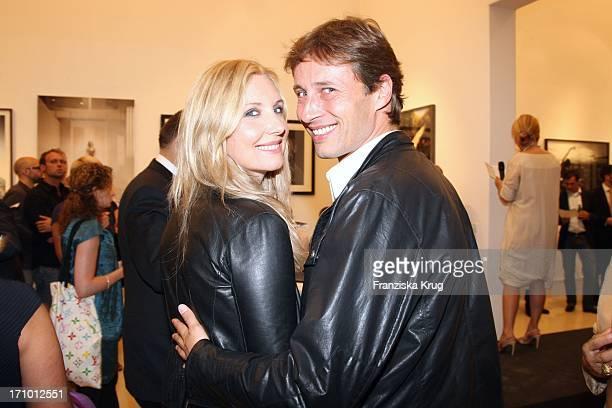 Jette Joop Und Ehemann Christian Elsen Bei Der CharityAuktion Von StarPortraits Von Be An Angel In Berlin