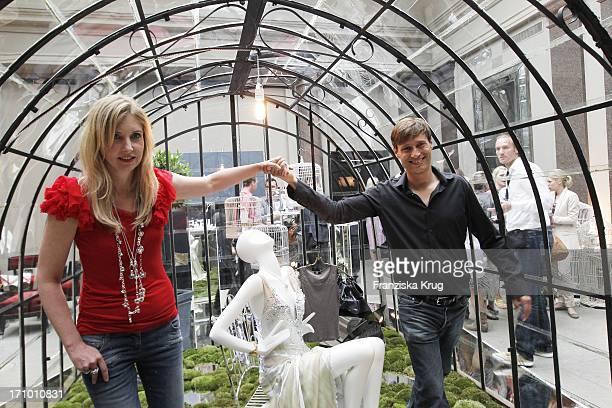 Jette Joop Und Ehemann Christian Elsen Beim Jette Joop Event Auf Der Fashion Week In Berlin