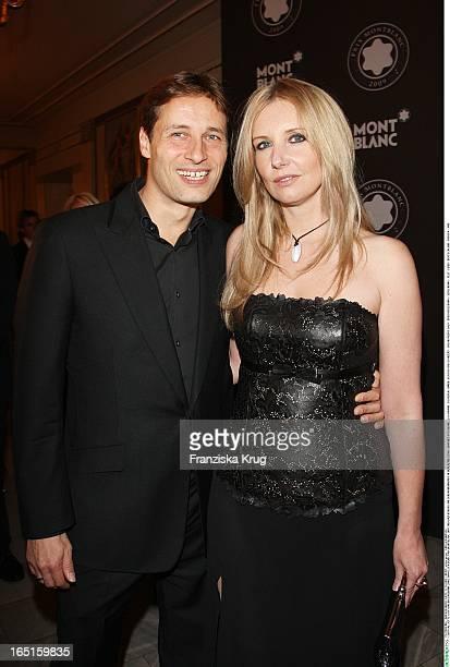 Jette Joop Und Ihr Ehemann Christian Elsen Beim Prix Montblanc 2009 Im Konzerthaus Am Gendarmenmarkt In Berlin Am 271009