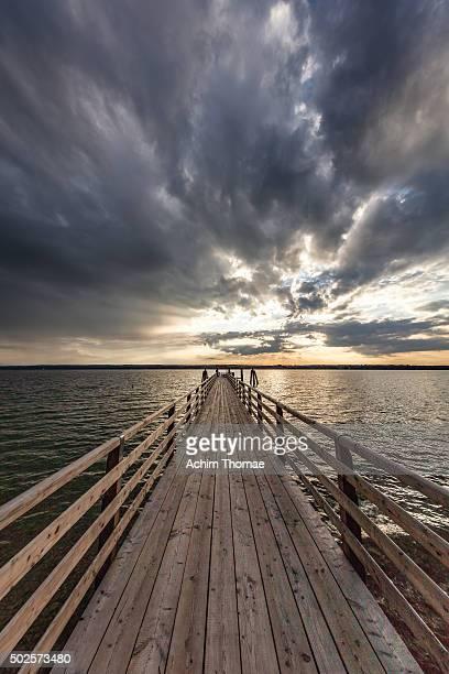 Jetty at Lake Ammersee - Bavaria