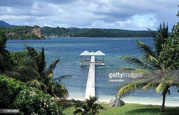 embarcadero granada - paisajes de isla de  granada fotografías e imágenes de stock