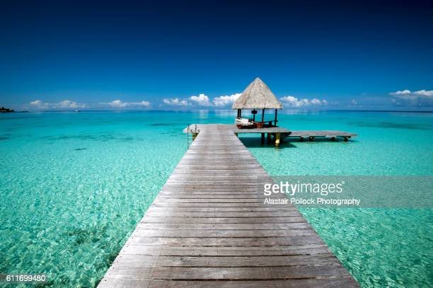 Jetty in French Polynesia