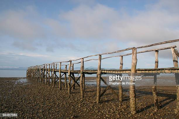 jetty in the morning light - stephan de prouw stock pictures, royalty-free photos & images