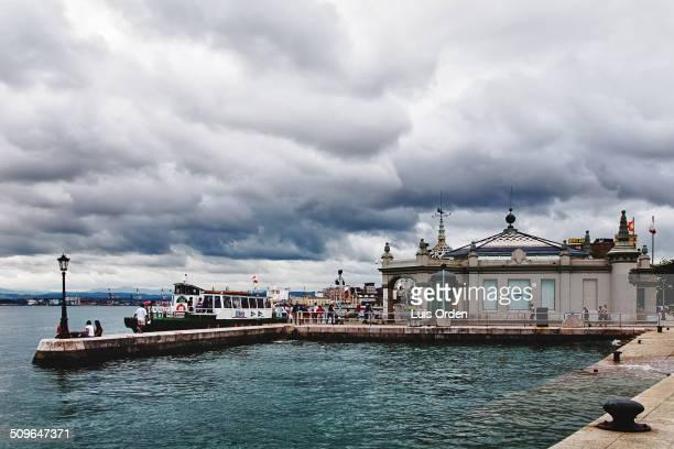 Jetty. Santander, Spain.
