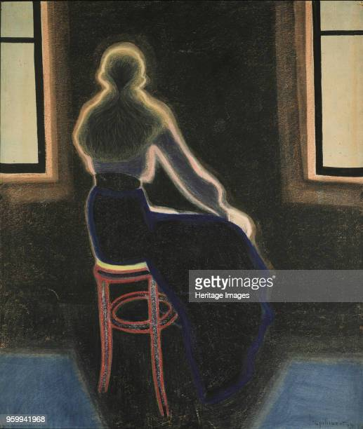 Jeune Femme sur un tabouret 1909 Private Collection