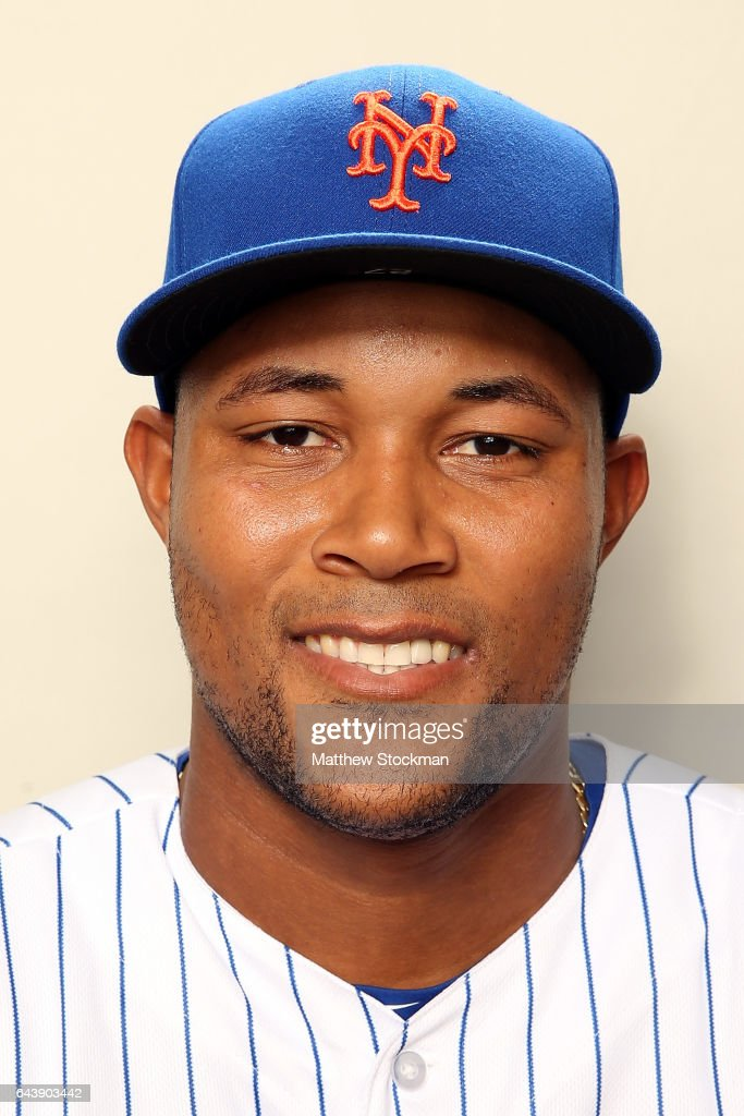 Jeurys Familia #27 poses for a portrait during New York Mets Photo Day at Tradition Field on February 22, 2017 in Port St. Lucie, Florida.