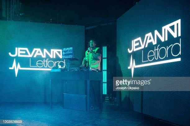 Jevanni Letford performs on stage at O2 Academy Islington on February 1, 2020 in London, England.