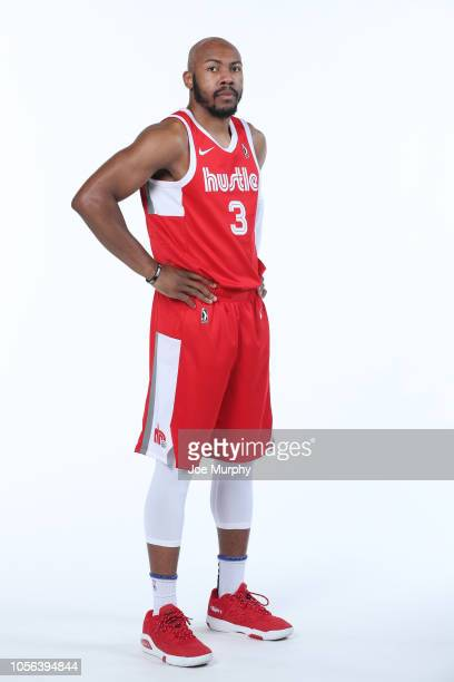 Jevon Carter of the Memphis Hustle poses for a portrait during the NBA GLeague media day on November 1 2018 at FedExForum in Memphis Tennessee NOTE...