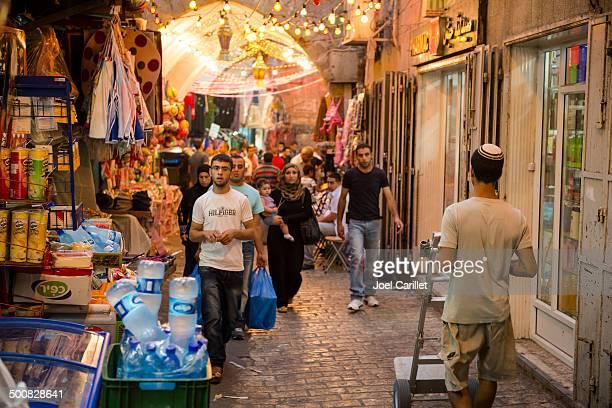 Jew and Arab in Jerusalem's Muslim Quarter