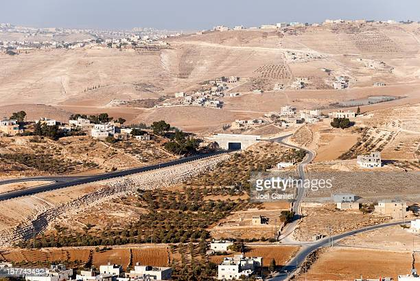 jew and arab in west bank landscape - historical palestine stock pictures, royalty-free photos & images