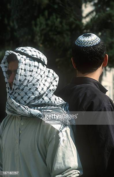 jew arab israeli palestinian - historical palestine stock pictures, royalty-free photos & images