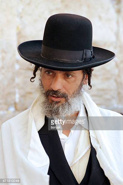 Jew at the Western Wall, Jerusalem, Israel