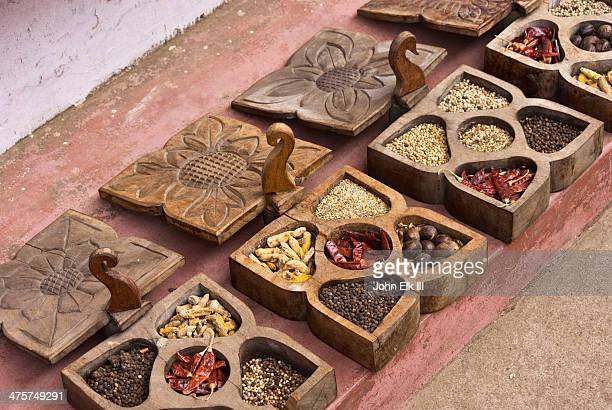 Jew Town, spices for sale