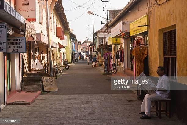Jew Town street scene