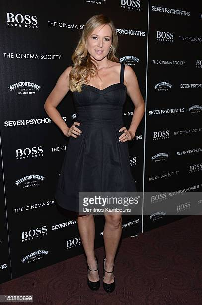 Jewel attends The Cinema Society with Hugo Boss and Appleton Estate screening of 'Seven Psychopaths' at Clearview Chelsea Cinemas on October 10 2012...