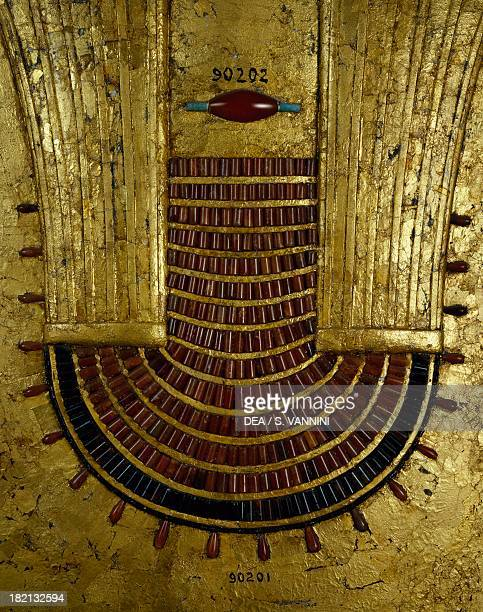 Jewel belonging to Neferuptah found in the Pyramid of Neferuptah in Hawara Goldsmith art Egyptian Civilisation Middle Kingdom Dynasty XII Cairo...