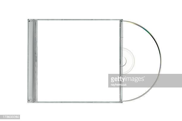 jewel case with cd hanging out - compact disc stock pictures, royalty-free photos & images