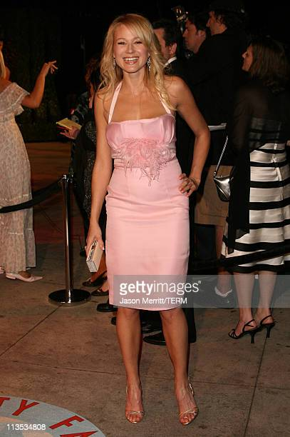 Jewel during 2006 Vanity Fair Oscar Party at Morton's in West Hollywood California United States