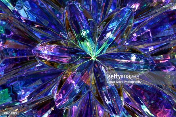 jeweled starburst - gemstone stock pictures, royalty-free photos & images