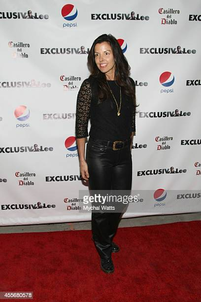 Jeweler Donna Distefano attends the Exclusivleecom Launch Party>> at Stray Kat Gallery on September 18 2014 in New York City