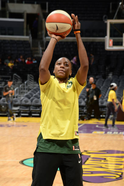 CA: Seattle Storm v Los Angeles Sparks - Game One