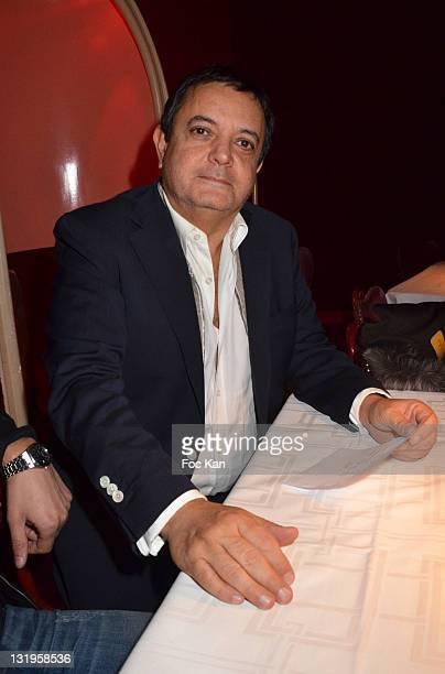 Jeweller Edouard Nahum attends the 'Paris Latino' Marlene Mourreau's Show Premiere at the Cabaret La Nouvelle Eve on November 4 2011 Paris France