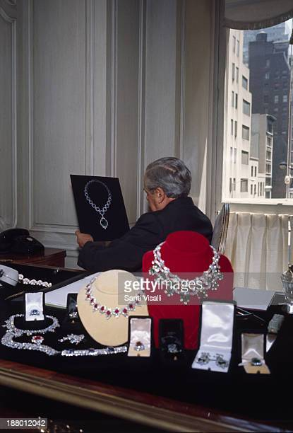 Jeweller Harry Winston on March 3 1968 in New York New York