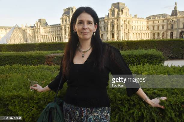 Jewellery designer Paula Marassi attends Valentin Cavaillé de Nogaret Birthday Party at Jardin du Carrousel on June 16 2020 in Paris France