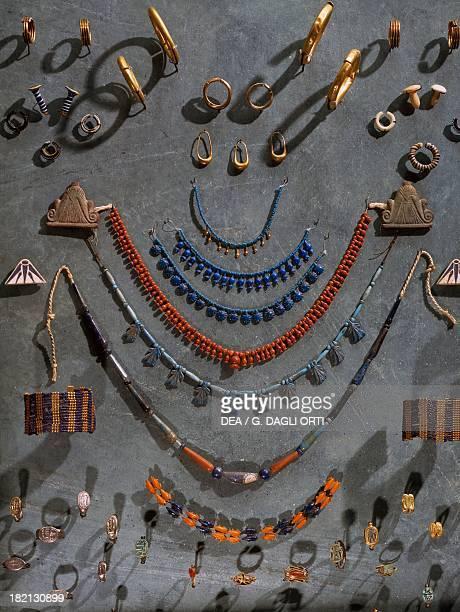 Jewellery Egyptian civilisation New Kingdom Paris Musée Du Louvre