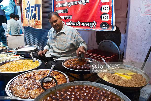 A jewellery market by day and a food bazaar by night the Sarafa Bazaar in Indore India is a riot for the senses taste smell sight and sound Here some...