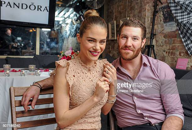 Jewellery Partners With Celebrity Couple Brandon Prust and Maripier Morin Event at The Drake Hotel on January 27 2016 in Toronto Canada