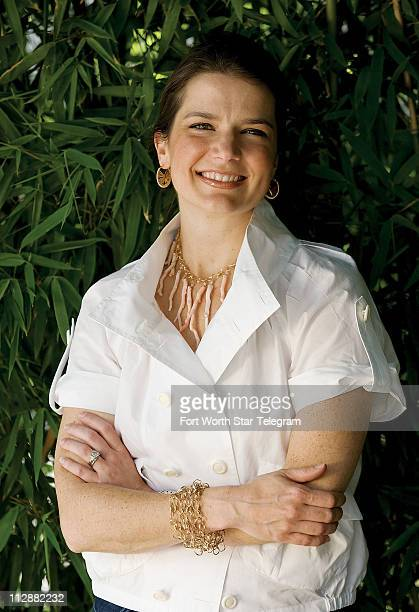 Jewelry designer Amanda Sterret considers her jewelry to be just like candy colorful and yummy Here she wears her Gable necklace handwrapped chain...