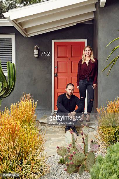 Jewelry designer Amanda Thomas and husband Pat Monahan's home is photographed for Domaine Home on August 20 2015 in Malibu California Published Image