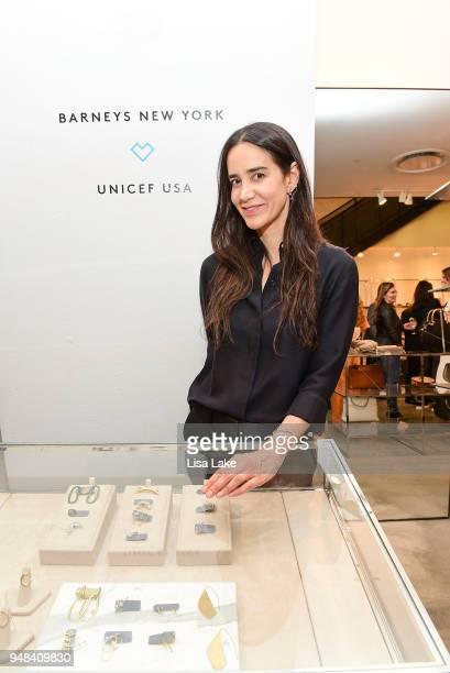 Jewelry designer Ana Khouri attends Barneys New York Foundation Celebrates UNICEF USA at Barneys New York In Philadelphia hosted by Jennifer Paradis...