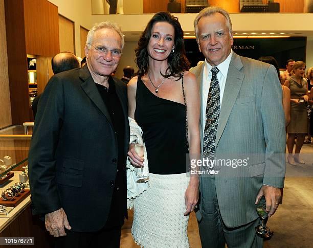 Jewelry designer David Yurman Angela Ruckdeschel and her husband Director and CEO of the Nevada Cancer Institute Dr John C Ruckdeschel attend a...
